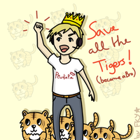 Save all the Tigers by Fyrku