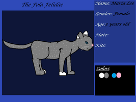 Maria Lee Ref Sheet - The Felidae Realm by melfurny