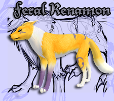 .:FH: Feral Renamon Preset:. by Goddess-of-BUTTSECKS