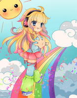 .My Colorful World. by lNeko-Hime