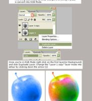 How To Colour BW Photos by pscore