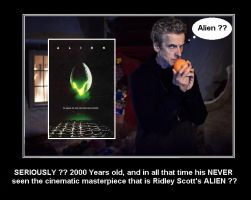 Doctor Who - His never seen Alien ?? by DoctorWhoOne