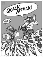 Duckmaster: Quack Attack by dunwich7