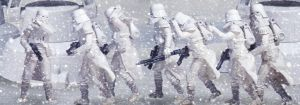 Away from the Blizzard - Hoth by EnricoMulyadi