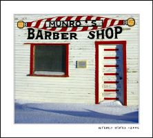 Munro's Barber Shop by altered-states