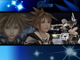 Kingdom Hearts Sora 1a by LumenArtist