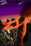 The true side of Fluffy Volcano Contest Entry by Kamzez97