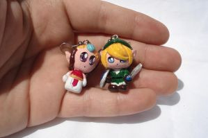 Legend of Zelda Earrings or Pendants by ArtNinja101
