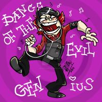 Dance of the evil genius by dragon-flies