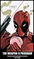 Deadpool vs Horsefly Too by KR-Whalen