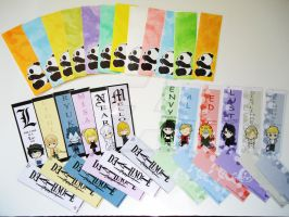 Bookmarks by Hyokenseisou
