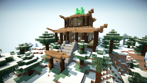 Emerald Temple by conner2802
