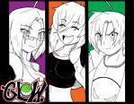 GLOW: Colors by SMALL-TOWN-HEROES