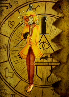 Bill Cipher from Gravity Falls by Zimizak