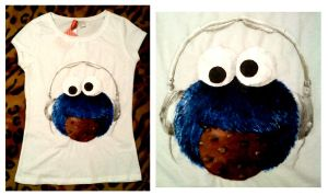 cookie monster by zuzyah