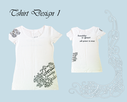 Tshirt design 1 by Aphilien