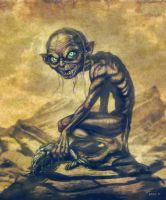 Gollum by EddieHolly