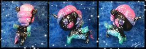 Tokidoki Mini Unicorno Nebula Custom by StephanieCassataArt
