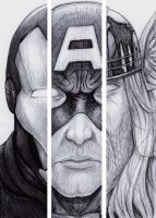 Avengers by delboysb91