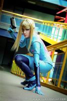 Metroid - Zero Suit Samus 3 by Yukilefay