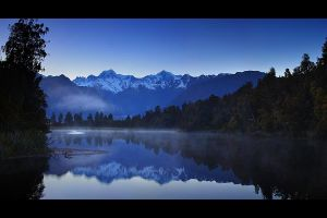 Lake Matheson by CainPascoe