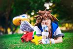 KH: Sora, you lazy bum! by Kairisia