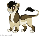 Lion Adoptable by Ms-Julie