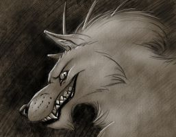 Sketch Commission - Trouble by jocarra
