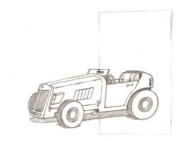WIP Vehicle Sketch Retro by cml913