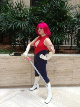 Cutey Honey Flash Sword by Yugaraa