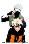 Kakashi and Naruto Cosplay 2 by YukiSumah