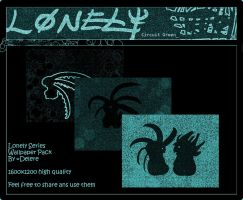 Lonely Wallpaper Pack - Green by Delere