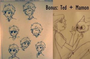 Ted's expressions by PauPaufg
