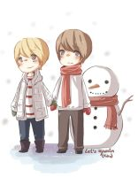Kyumin - Christmas day by Fuko-chan