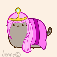 Pusheen the Princess by The-Bish-Of-Hyrule