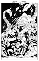 Aquaman 018 COVER inks small by roughhouseink
