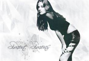 Simone Simons wallpaper by Lady-Kiwi