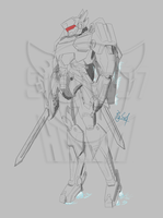 Jaeger Dragonslash (Cuchilla) - WIP by Sidian07