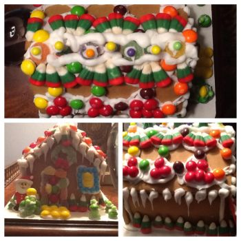 Ginger bread house by lighting-rider