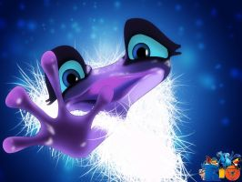 Gabi - the poison frog from Rio2 by viork