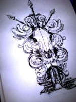 tattoo design (for sale) by JinRozenrot