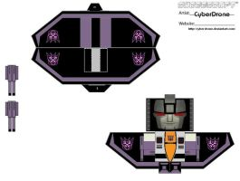 Transformers - Skywarp 2 by CyberDrone