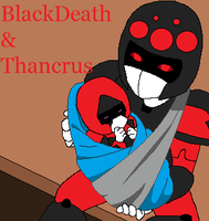 BlackDeath's new family member by SirBlackDeath