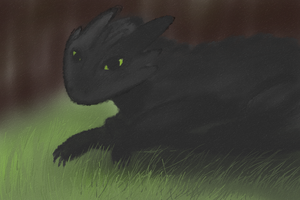 Toothless by Pursaius
