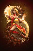 Lina the Fiery Soul by steevinlove