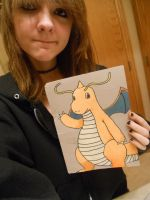 Dragonite :3 by KillerKitteh