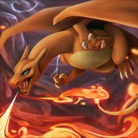I CHOOSE YOU CHARIZARD by Caindra
