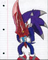 Sonic Werehog Zariche by BkSonic