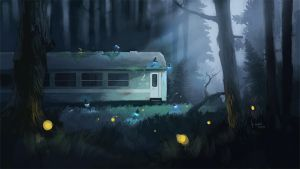 Night Train by mwolski