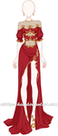 [OPEN LOWER PRICE] Nobility Robe Adoptable by Aloise-chan